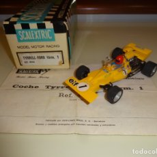 Scalextric: SCALEXTRIC. EXIN. TYRRELL FORD F1 AMARILLO. REF. C-48. Lote 181198808