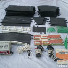 Scalextric: LOTE CIRCUITO SCALEXTRIC EXIN - TRIANG. Lote 181503191