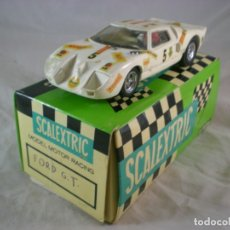 Scalextric: FORD GT SCALEXTRIC EXIN C-35 - COCHE Y CAJA. Lote 181506290