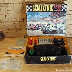 Scalextric: SCALEXTRIC GP 22 - TRIANG Y EXIN - CON COCHES FERRARI Y DOCUMENTACION - GP22 GP-22. Lote 182085663