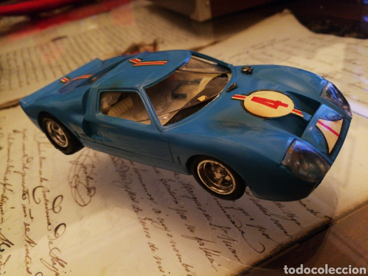 SCALEXTRIC FORD GT REF C-35. (Juguetes - Slot Cars - Scalextric Exin)