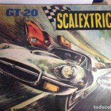 Scalextric: ESTUPENDO CIRCUITO GT-20 EXIN JAGUAR-E. Lote 182481481