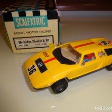 Scalextric: SCALEXTRIC. EXIN. MERCEDES WANKEL C-111 AMARILLO. REF. C-44. Lote 182777442