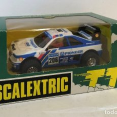 Scalextric: SCALEXTRIC PEUGEOT 405 TT BLANCO PIONEER DE EXIN. REFERENCIA 7302. Lote 182911567