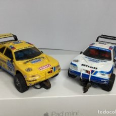 Scalextric: SCALEXTRIC DOS PEUGEOT 405 EXIN. Lote 182985045