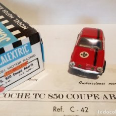Scalextric: TC 850 COUPE ABARTH DE EXIN REF.-C-42. Lote 183084280