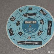 Scalextric: SCALEXTRIC EXIN TABLA DE VELOCIDADES TVS MPH KPH - AÑOS 80. Lote 183825105