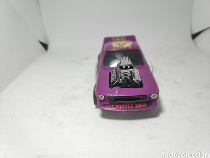 Scalextric: SCALEXTRIC FORD MUSTANG LILA EXIN REF. 4049 - Foto 3 - 183880631
