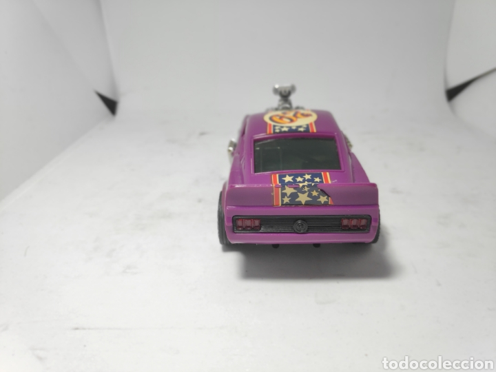 Scalextric: SCALEXTRIC FORD MUSTANG LILA EXIN REF. 4049 - Foto 5 - 183880631