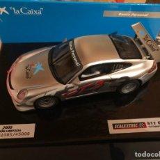 Scalextric: PORSCHE 911 GT3 CUP -SCALEXTRIC - LA CAIXA. Lote 183913303
