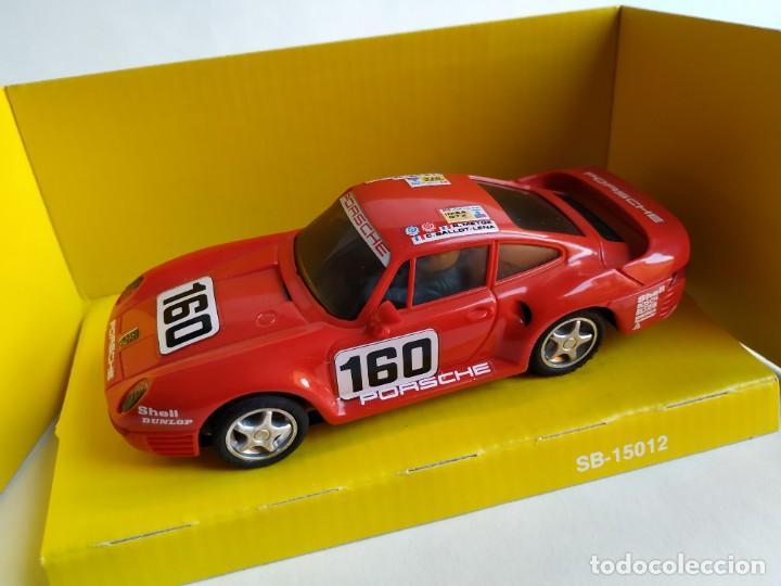 PORSCHE 959 ROJO (Juguetes - Slot Cars - Scalextric Exin)