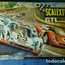 Scalextric: SCALEXTRIC GTLEMANS 30 EXIN EN CAJA CON 2 COCHES. Lote 184033305