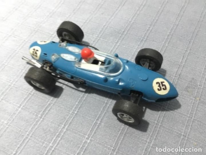 SCALEXTRIC EXIN. FERRARI 156 AZUL TEJANO (Juguetes - Slot Cars - Scalextric Exin)