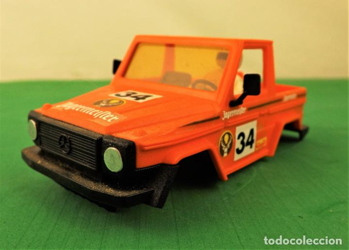 SCALEXTRIC STS CARROCERÍA MERCEDES G Nº 34 (Juguetes - Slot Cars - Scalextric Exin)