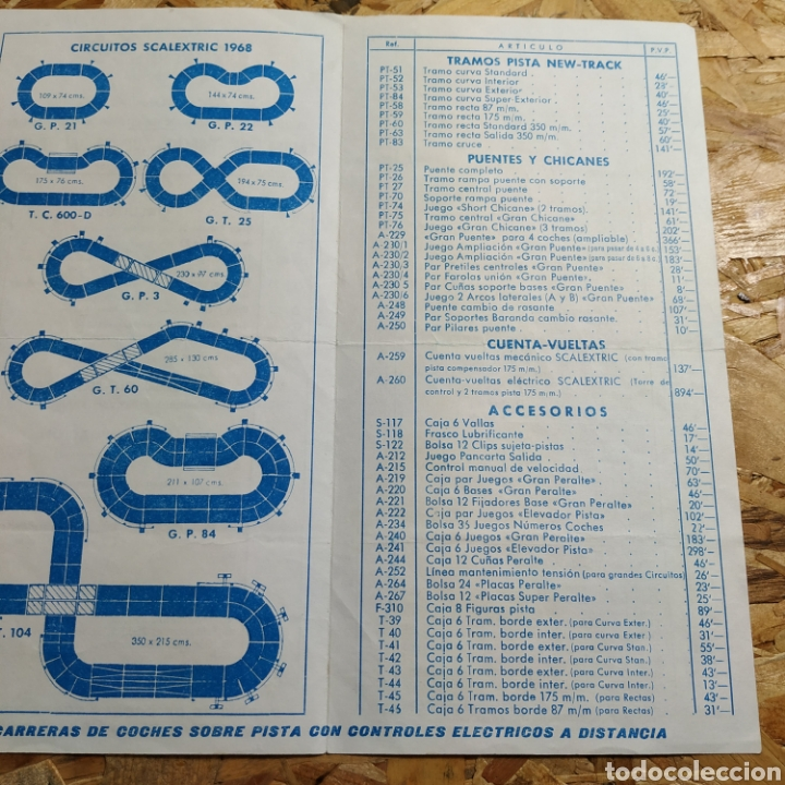 Scalextric: Catálogos Scalextric - Foto 3 - 184717796