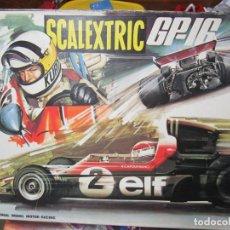 Scalextric: CAJA VACIA CIRCUITO GP 16 SCALEXTRIC EXIN. Lote 184875938
