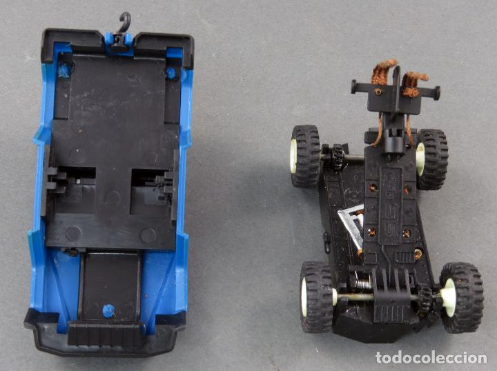 Scalextric: Mercedes STS 4x4 azul Pioneer Scalextric Exin años 80 - Foto 3 - 185717091