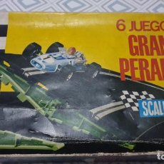 Scalextric: CAJA 6 JUEGOS GRAN PERALTE SCALEXTRIC A - 240. Lote 186357630