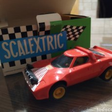 Scalextric: COCHE SCALEXTRIC EXIN LANCIA STRATOS ROJO REF 4055. Lote 186954206