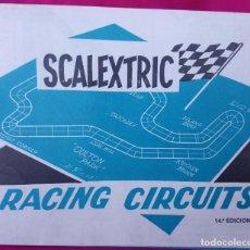 Scalextric: SCALEXTRIC FOLLETO CARTEL RACING CIRCUITS. 14ª EDICIÓN. AÑO 1976 EXIN MADE IN SPAIN.. Lote 188611377
