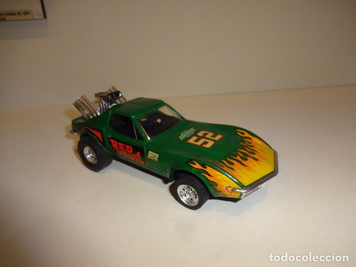 Scalextric: Scalextric. Exin. Chevrolet Corvette verde. Ref. 4050 - Foto 2 - 189242941