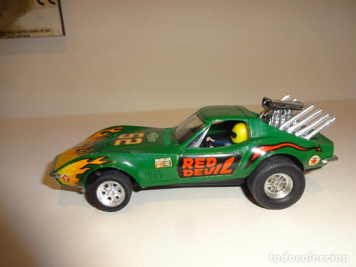 Scalextric: Scalextric. Exin. Chevrolet Corvette verde. Ref. 4050 - Foto 3 - 189242941