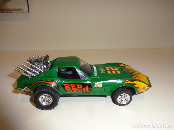 Scalextric: Scalextric. Exin. Chevrolet Corvette verde. Ref. 4050 - Foto 4 - 189242941