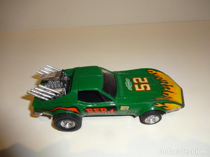 Scalextric: Scalextric. Exin. Chevrolet Corvette verde. Ref. 4050 - Foto 5 - 189242941