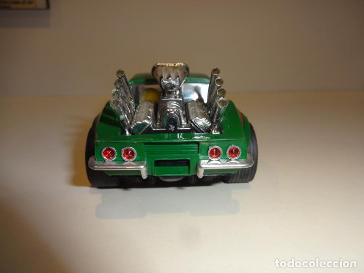 Scalextric: Scalextric. Exin. Chevrolet Corvette verde. Ref. 4050 - Foto 6 - 189242941