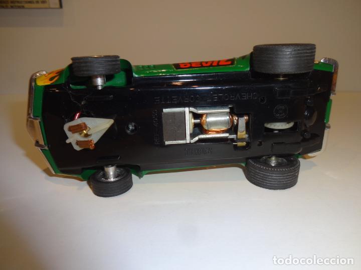 Scalextric: Scalextric. Exin. Chevrolet Corvette verde. Ref. 4050 - Foto 7 - 189242941