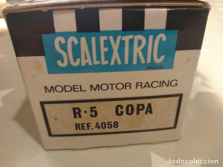 Scalextric: Coche Scalextric R5 Copa Ref 4058 - Foto 4 - 189440786