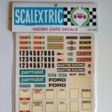 Scalextric: SCALEXTRIC - RACING CARS DECALS - REF. 4237 - A ESTRENAR. Lote 189473058