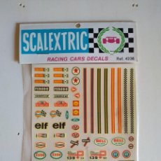Scalextric: SCALEXTRIC - RACING CARS DECALS - REF. 4236 - A ESTRENAR. Lote 189473543