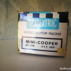 Scalextric: CAJA MINI COOPER SCALEXTRIC EXIN. Lote 190002057