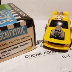 Scalextric: FORD MUSTAN REF.-4049 DE EXIN CON CAJA E INSTRUCCIONES ORIGINALES. . Lote 190495448