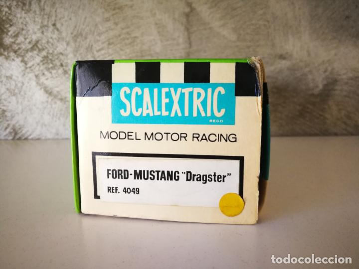 Scalextric: CAJA FORD MUSTANG DRAGSTER EXIN - Foto 4 - 190591870