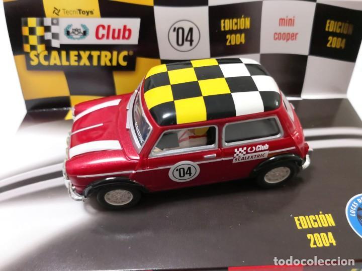 MINI COOPER 1300 CLUB EDICION LIMITADA 2004 SCALEXTRIC A ESTRENAR (Juguetes - Slot Cars - Scalextric Exin)