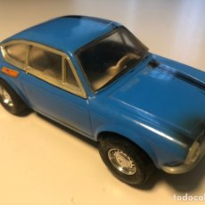 Scalextric: SEAT 850 AZUL EXIN RACED TUNED. Lote 190915106