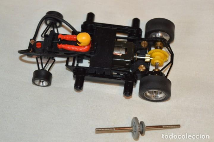 ANTIGUO CHASIS SRS REF. 7153 - SCALEXTRIC - EXIN - MADE IN SPAIN - PERFECTO ESTADO - CON REGALO (Juguetes - Slot Cars - Scalextric Exin)