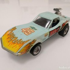 Scalextric: ANTIGUO CHEVROLET CORVETTE DRAGSTER REF. 4050 DE SCALEXTRIC EXIN. Lote 191846401