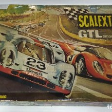 Scalextric: SCALEXTRIC GTL LEMANS 30 CON COCHES. Lote 191937086