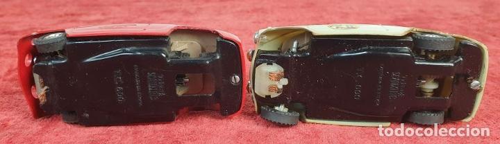 Scalextric: 2 COCHES SCALEXTRIC. TRIANG TC-600. ACCESORIOS. TRANSFORMADOR Y 4 MANDOS. AÑOS 70. - Foto 14 - 192869883