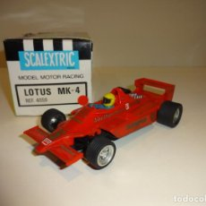 Scalextric: SCALEXTRIC. EXIN. LOTUS JPS MK4. REF. 4059. Lote 193175553