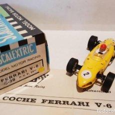 Scalextric: FERRARI V-6 REF.-C-39 DE EXIN. Lote 193384561