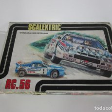 Scalextric: SCALEXTRIC RC. 56 - COMPLETO CON COCHES - LANCIA 037 RALLY. Lote 193950187