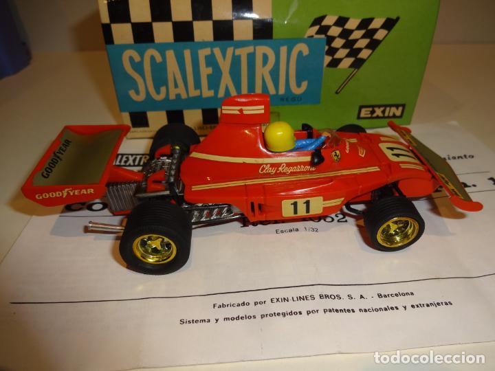 Scalextric: Scalextric. Ferrari B-3 F1 Rojo. Ref. 4052 - Foto 3 - 194083221