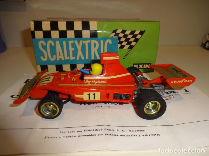 Scalextric: Scalextric. Ferrari B-3 F1 Rojo. Ref. 4052 - Foto 4 - 194083221