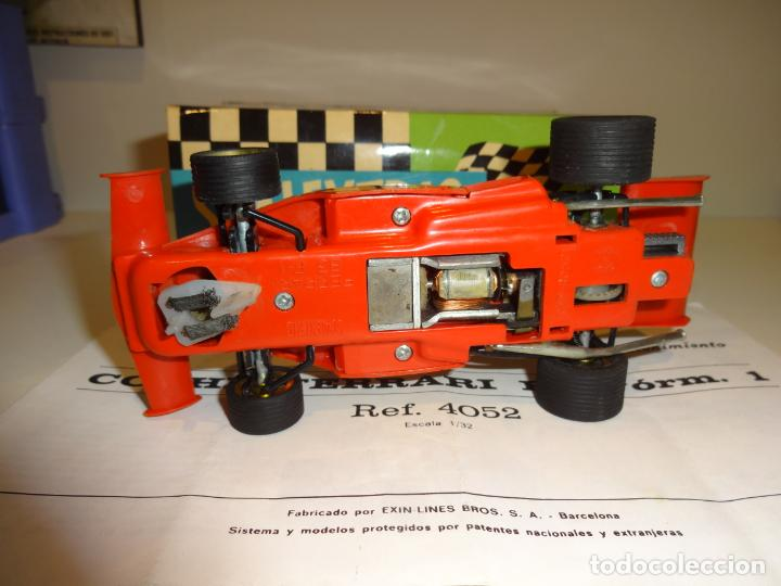 Scalextric: Scalextric. Ferrari B-3 F1 Rojo. Ref. 4052 - Foto 5 - 194083221