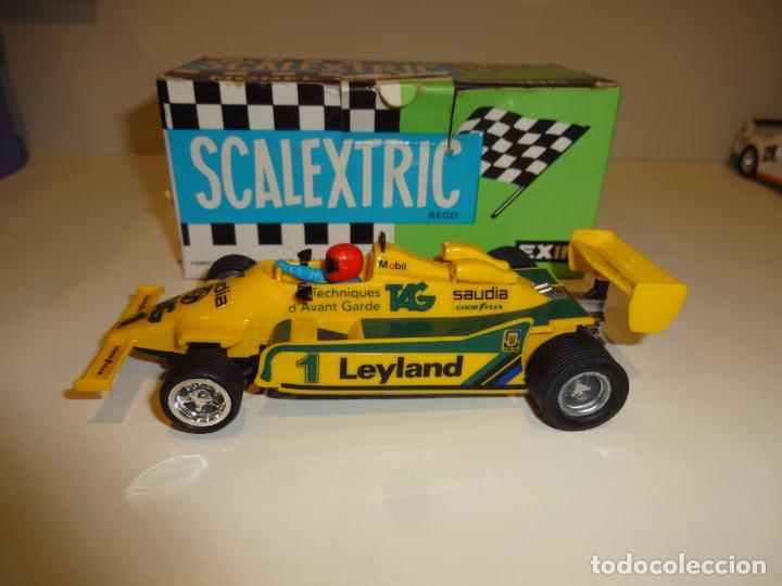 Scalextric: Scalextric. Williams FW-07 F1 Amarillo. Ref. 4068 - Foto 3 - 194083405