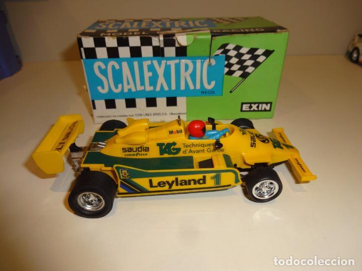 Scalextric: Scalextric. Williams FW-07 F1 Amarillo. Ref. 4068 - Foto 4 - 194083405